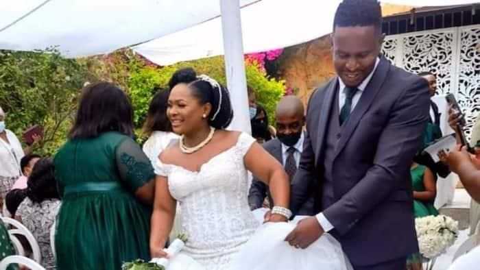 Lovely Couple Who Met on Social Media Via DM Exchange Vows, Now Happily Married