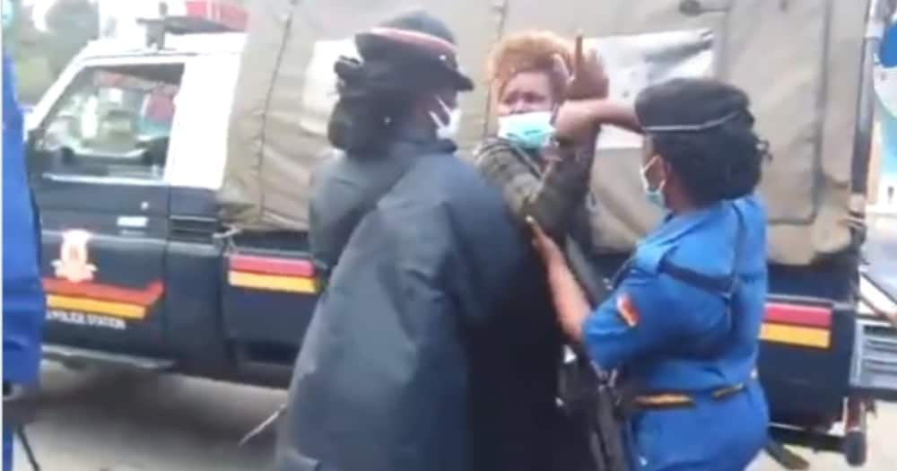 Nakuru: Mwanamke atishia kuvua nguo polisi walipojaribu kumkamata