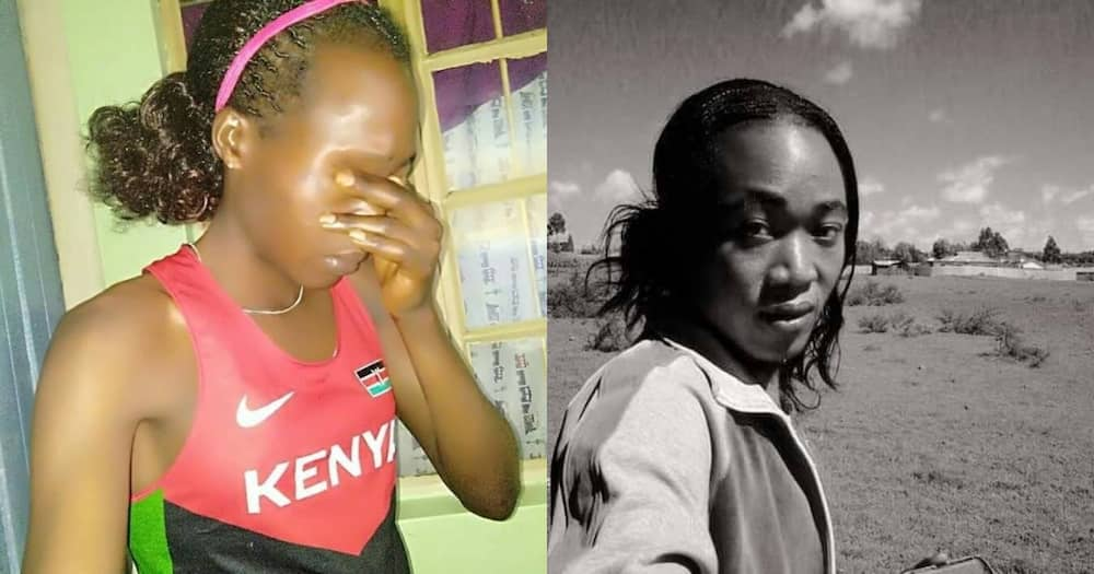 20 extremely confusing photos of Eldoret man who successfuly impersonated female athlete