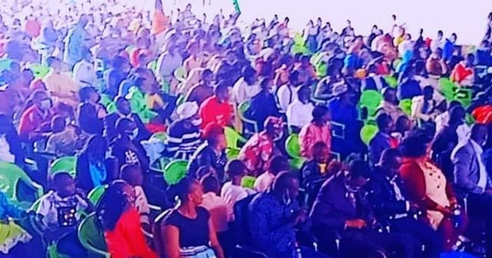 Victor Kanyari's church is open for worshippers.
