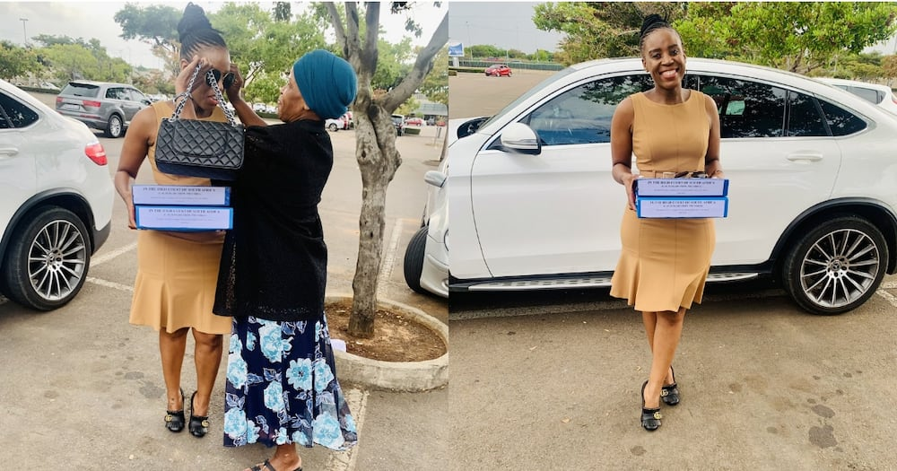 """""""We Won"""": Lady and Mom Celebrate as She Becomes Attorney of High Court"""