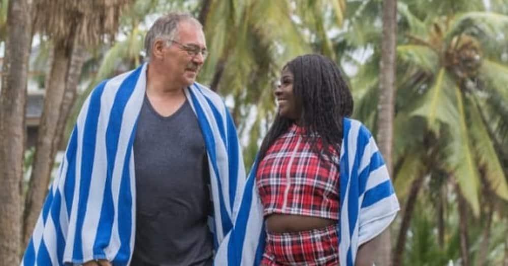 Nyota Ndogo Reminds Mzungu Hubby of Their Wedding Day as She Pleads for Forgiveness