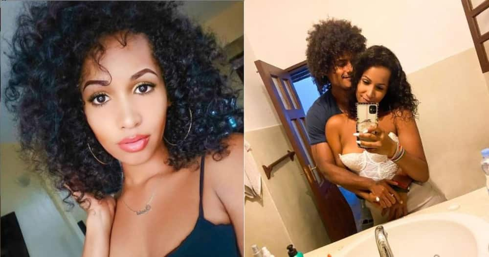 Poor Eric Omondi: Kenyans react after comedian's ex Chantal posts spicy photos of new lover