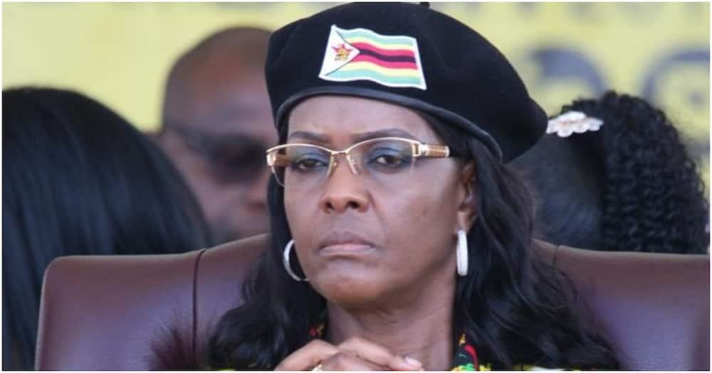 Robert Mugabe's Widow Grace Receiving Treatment in Singapore, Late President's Nephew Discloses