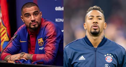 Kevin-Prince Boateng's father's priceless reaction after son's big move to Barca