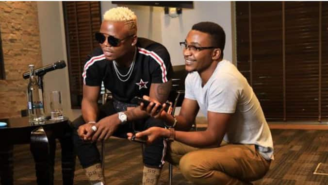 Harmonize Manager ditches singer, claims he is too arrogant since his success