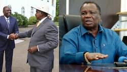 Katibu wa COTU Francis Atwoli Asema Anashuku Ziara za DP Ruto Uganda