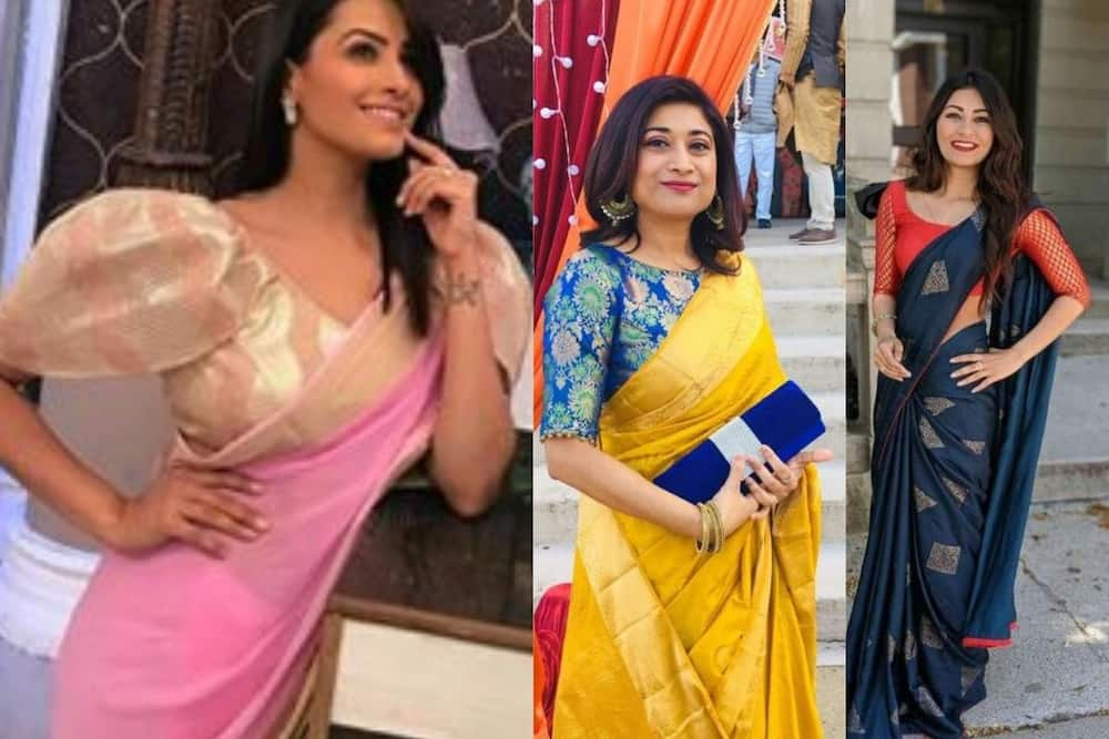 blouse designs for silk saree