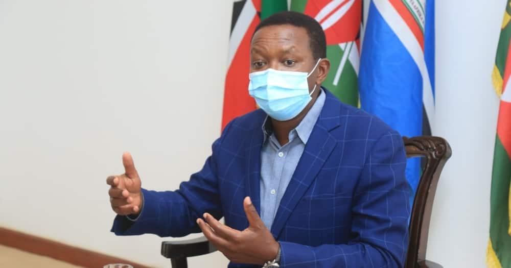 Machakos Governor Alfred Mutua. Photo: Alfred Mutua.