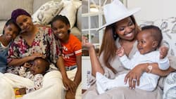 """Grace Msalame Reveals She Delivered 7-Month-Old Son at Home: """"Just How I Desired"""""""