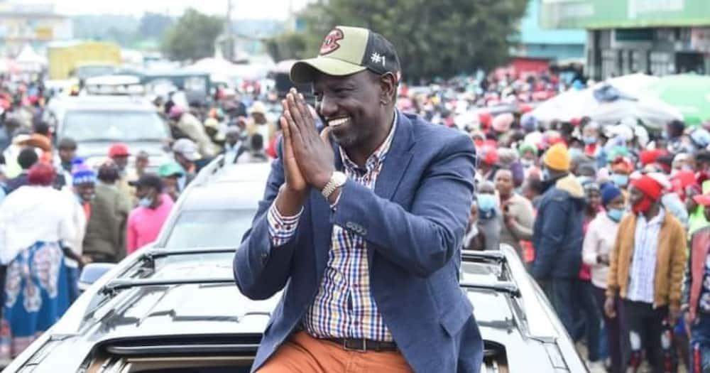 DP Ruto achangamsha wakazi wa Nyandarua kwa wimbo wa Kikuyu