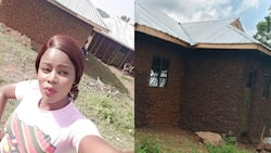 """Kenyans celebrate kind lady who built her mother simple house: """"It cost me 130k"""""""