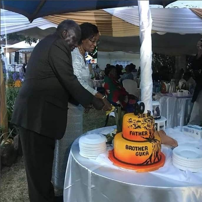 Uhuru Kenyatta's highly influential uncle celebrates 80th birthday in style