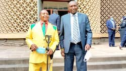 David Ole Sankok: Nominated MP Dons Yellow Suit to Parliament, Sparks Reactions