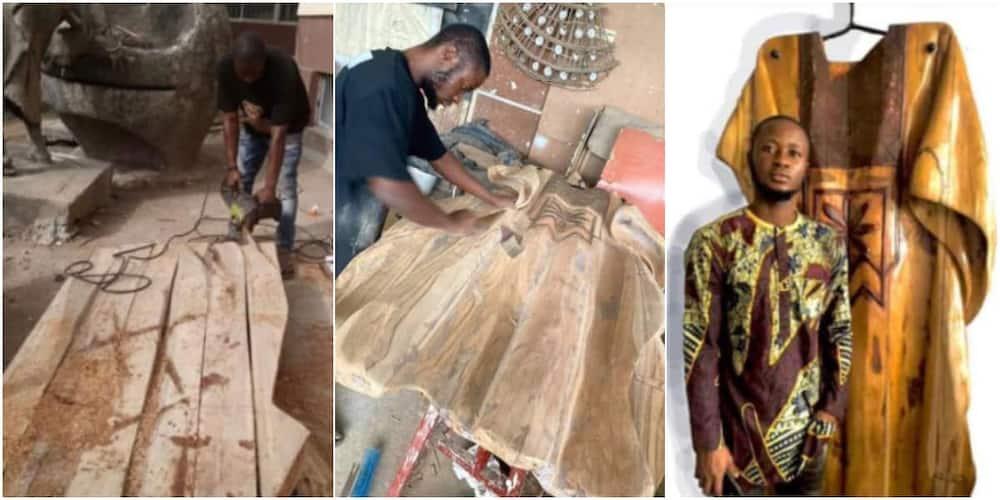 Adesokan Timilehin is a Nigerian sculptor