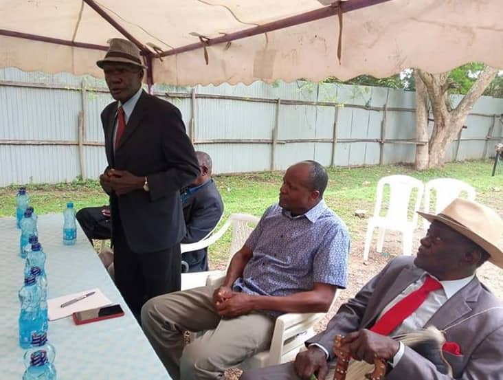 Embattled Migori Governor Okoth Obado holds talks with Luo and Suba council of elders