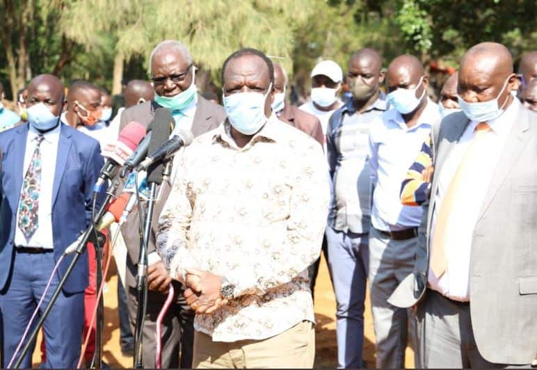 Wycliffe Oparanya, Eugene Wamalwa heckled in Kakamega as residents shout William Ruto's name
