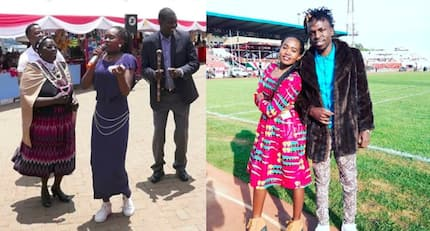 Kalenjin rapper Msupa S has made it, performs for Uhuru during Jamhuri Celebrations