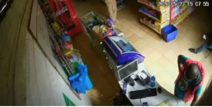Nairobi: Police in search of 2 suspects captured on camera stealing phone from M-Pesa agent