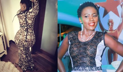 Anerlisa Muigai leaves singer Akothee thirsty with figure-hugging dress and it is super funny