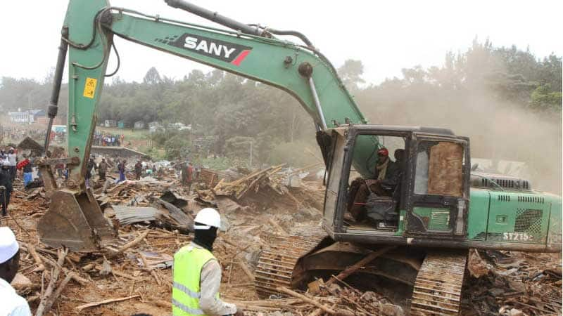 Over 30 bulldozers storm Ruai as gov't evicts people from land linked to Ruto