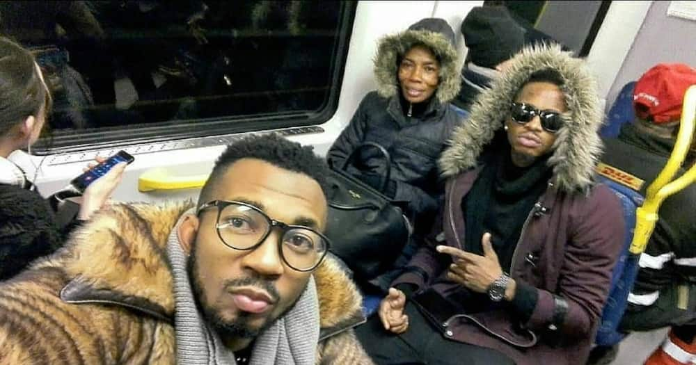 Diamond Platnumz discloses he struggled to pay his mum's medical bills abroad after she suffered stroke