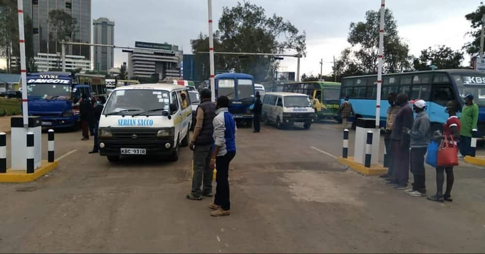 Greenpark bus terminal. Photo: Nairobi Metropolitan Services.