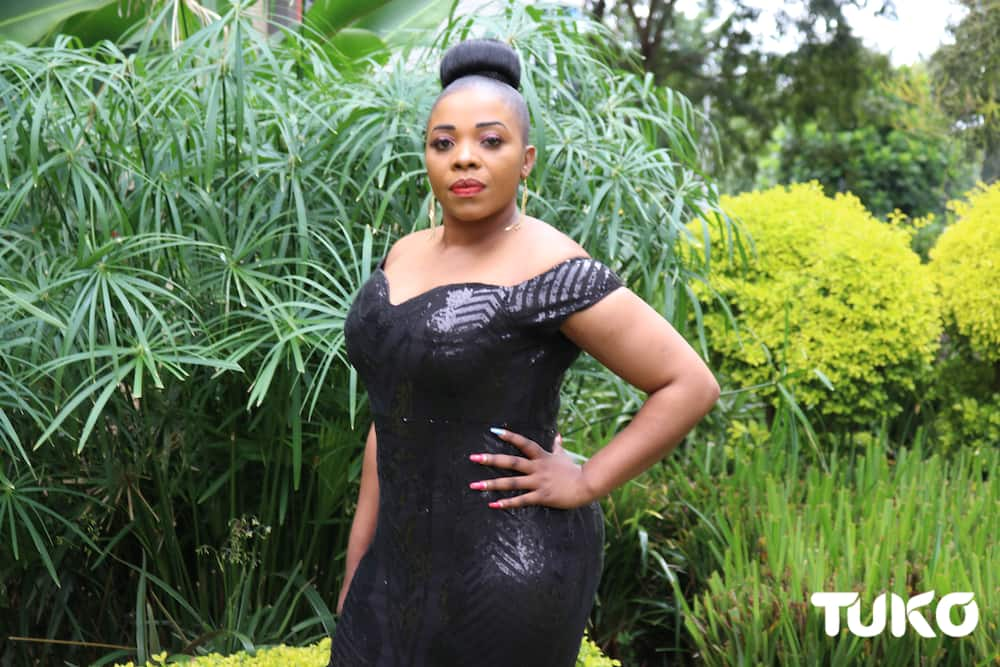 Kenyans express mixed reactions after Justina Syokau is spotted with heavily built bodyguards