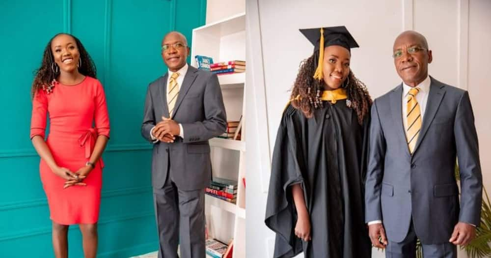 Boni Khalwale's daughter graduated with Bsc in actuarial science.