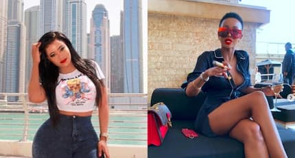 Proof that socialites Huddah Monroe and Vera Sidika are parasites depending on other people to thrive
