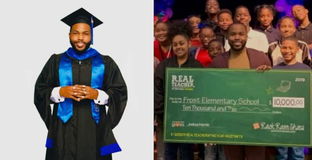 A Teachers Uses his own Money to Offer Scholarships to High School Children