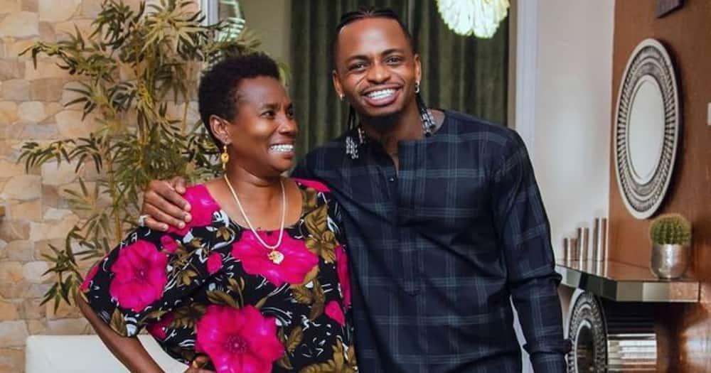 """Diamond's mother discloses reason behind naming son after fake dad: """"Mtoto hajamlea"""""""