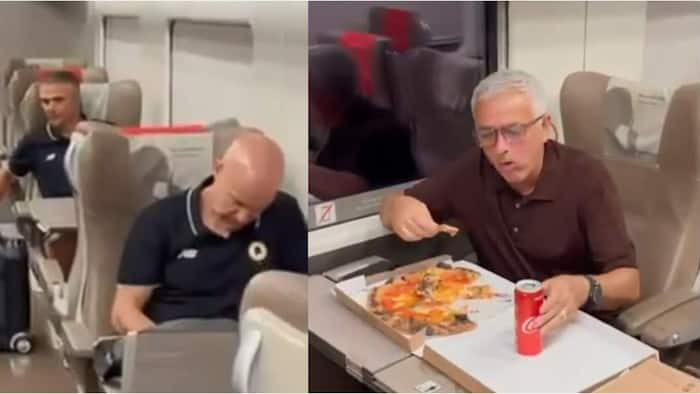 Mourinho Celebrates Roma's 2nd Serie A Victory in Style on Train with Coaching Staff