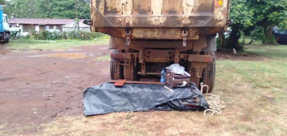 Meru: Police force man to spend night at police station with wife's body in coffin
