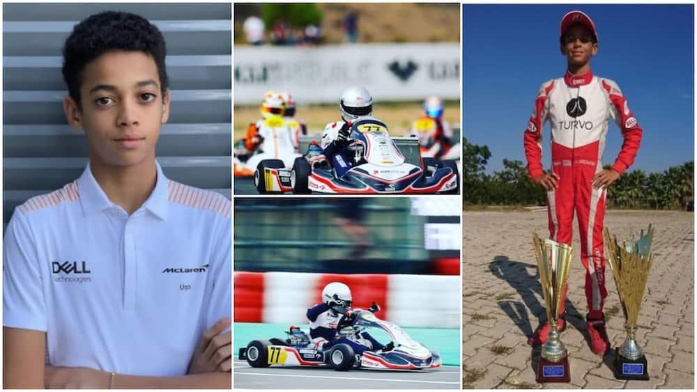 13-Year-Old Nigerian Ugochukwu Beats many in Motor Racing Contest, Gets Big Deal with Formula 1 team McLaren