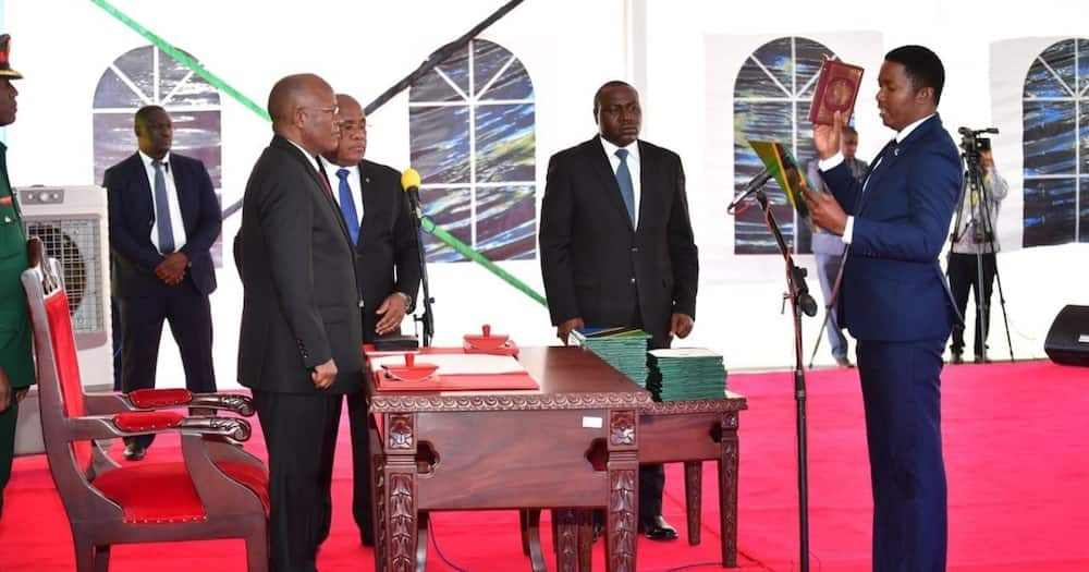 Magufuli warns new Cabinet members against taking selfies when launching gov't projects