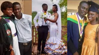 Man Marries Schoolmate, Story of Their Beautiful Love Life Told in Photos