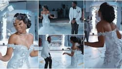 Groom Makes Money Rain on Adorable Bride on the Dancefloor