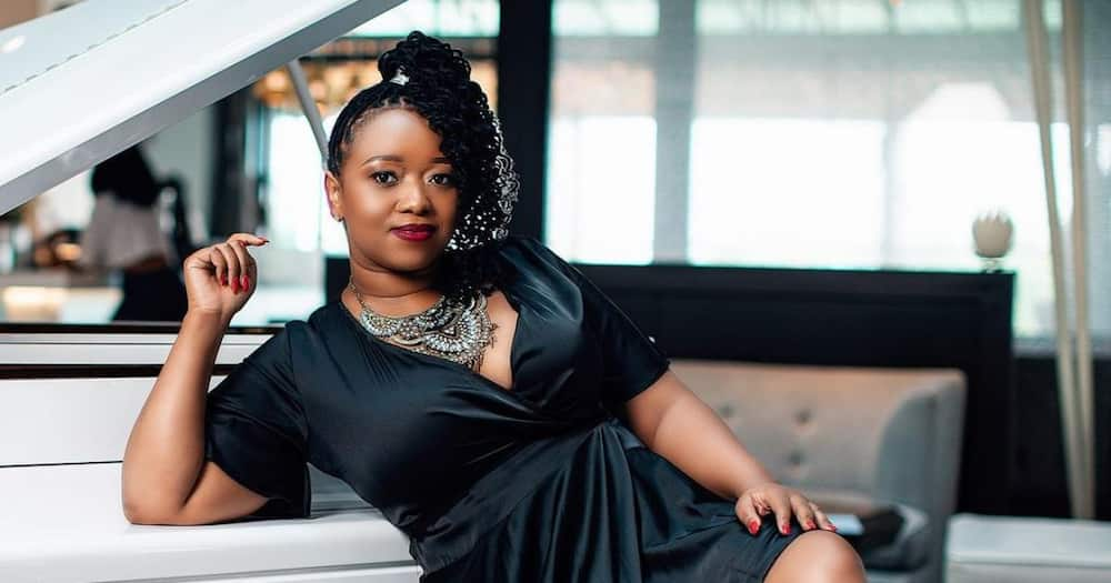 Ciku Muiruri said she gave Kirubi the name DJ CK