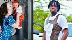Willy Paul Serenades Beautiful Mzungu Baby Mama in Cute Post as She Dances to His Song
