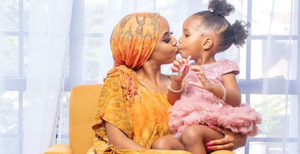 Big 3: Bridget Shighadi, Nick Mutuma celebrate their daughter's birthday in cute posts