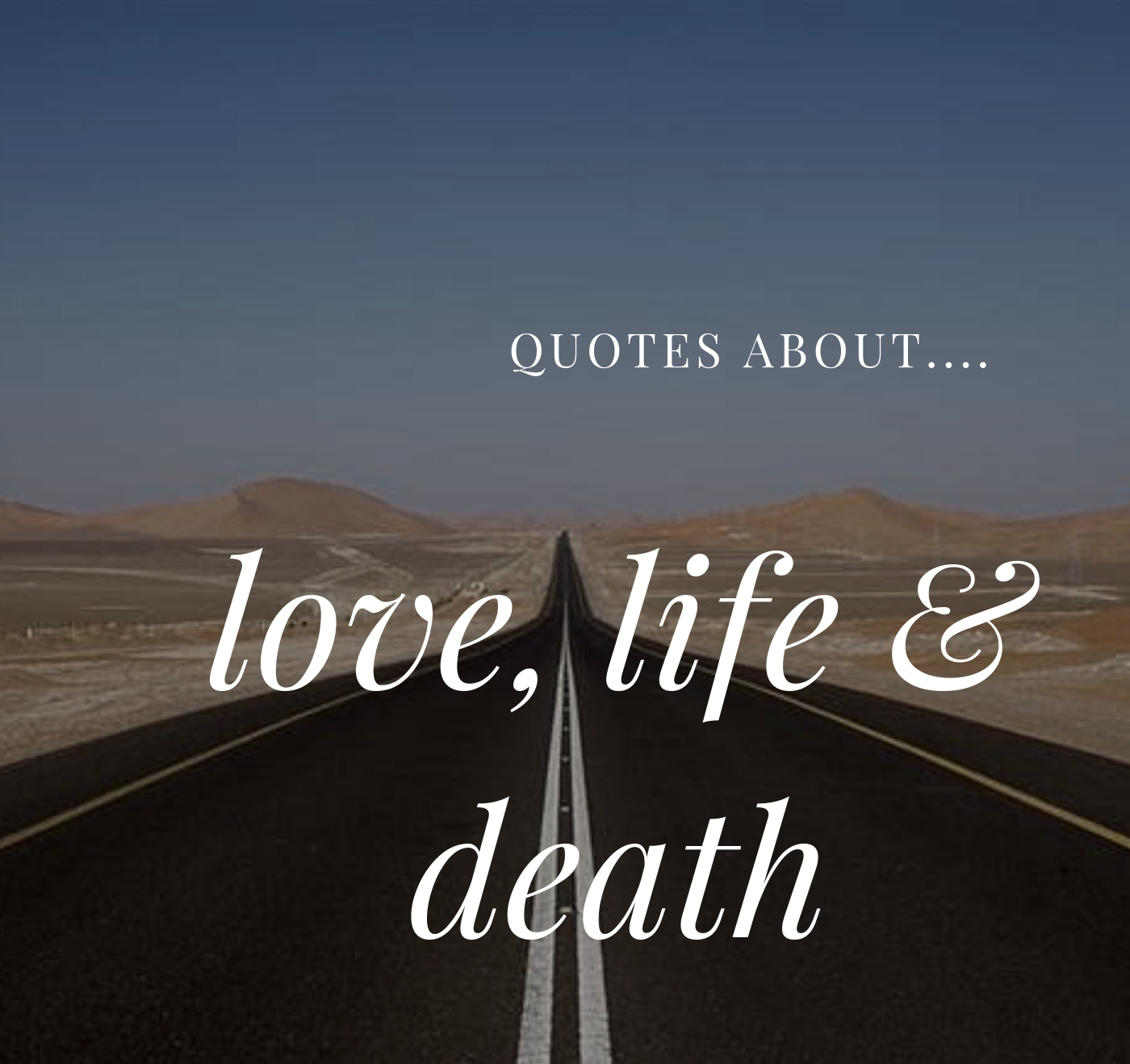 Short Deep Quotes About Love Life And Death Tuko Co Ke