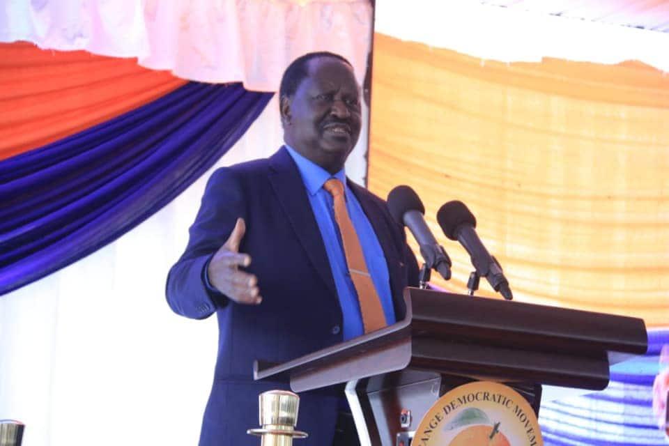 Mahasimu wangu walitaka nife kwa ajili ya 2022, Raila asema