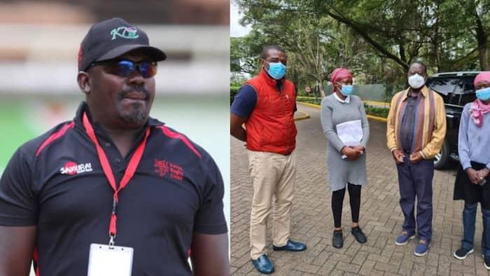 Raila Akutana na Familia ya Ayimba, Wafanya Maombi Kumtakia Nafuu