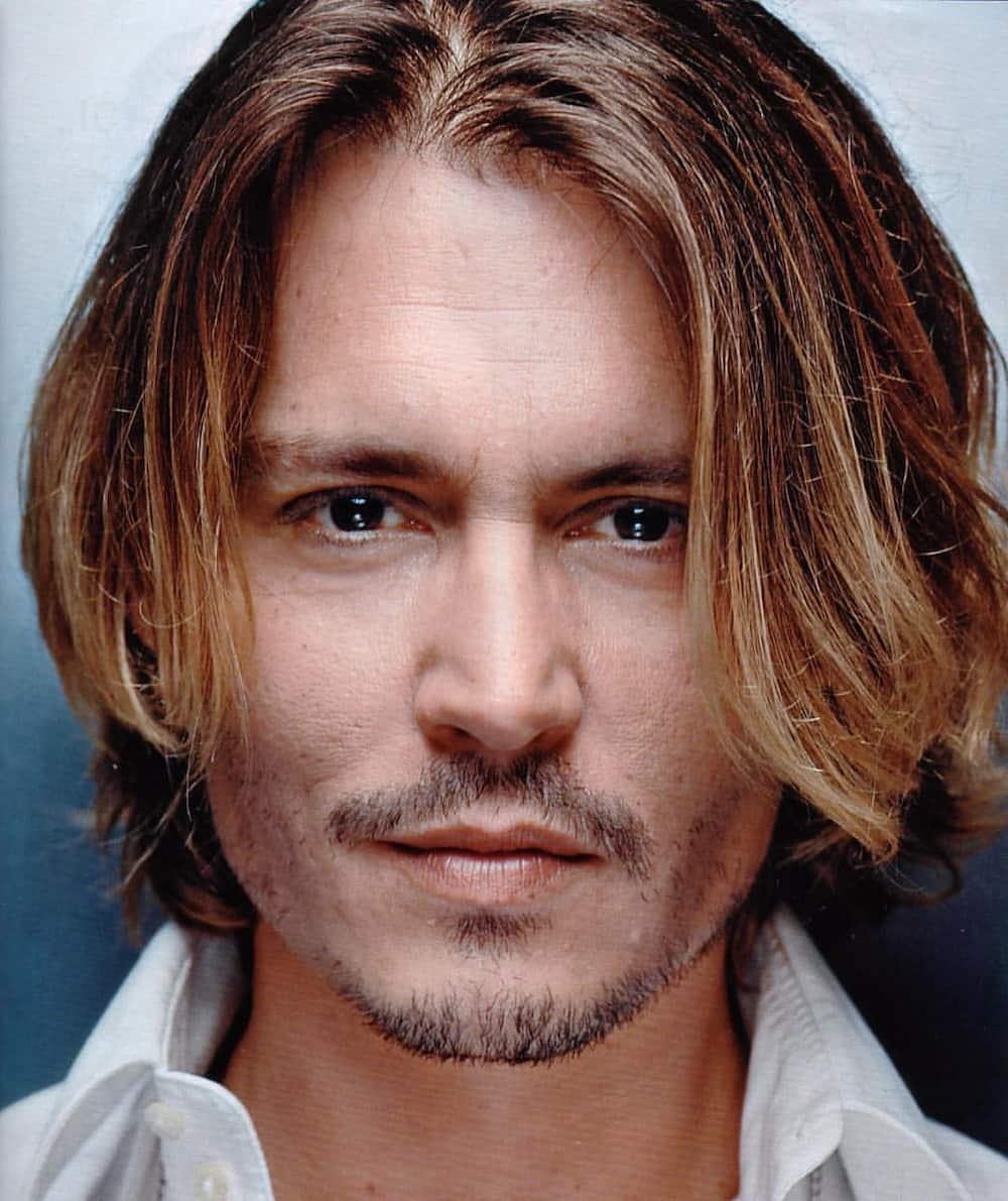 12 best Johnny Depp hairstyles ▷ Tuko.co.ke