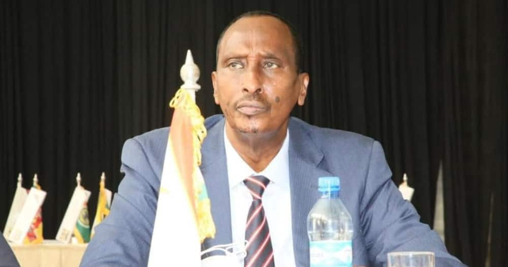 Ex-Wajir Governor Abdi Mohamud attended the CoG meeting convened by Chairman Martin Wambora, ahead of the 7th Devolution Conference in Makueni.