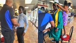 Alabama: Kind Restaurant Boss Cedric Hampton Refuses to Let Employee Skip Graduation for Work, Helps Him Dress Up
