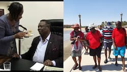 Atwoli Thrills Wife Mary Kilobi with Impressive Dance Moves During Shopping Expedition
