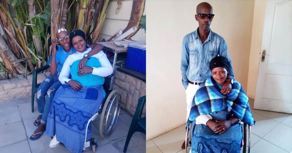 Queen on wheels: Disabled lady shares sweet post to love of her life