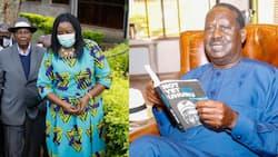 Raila Akutana na Wazee Waluhya Kwake Kuwashukuru Kwa Kumtakia Afueni ya Haraka